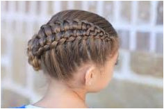Girls Updo Hairstyles How To Create A Zipper Braid Updo Hairstyles Cute Girls Hairstyles