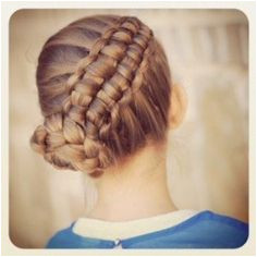 How to Create a Zipper Braid Video tutorial from Cute Girls Hairstyles How to Create a Zipper Braid Video tutorial from Cute Girls Hairstyles
