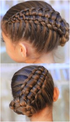 Zipper braid updo and video tutorials