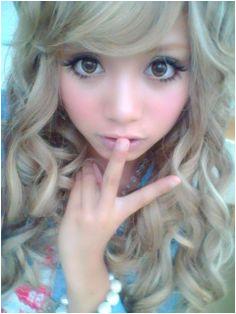 Gyaru Hair Styles Cute Tumblr Blonde Hair Hair Colors Hair