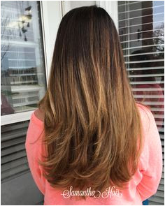 Natural roots ombre Balayage highlights FOLLOW ON INSTAGRAM SamRHairLife