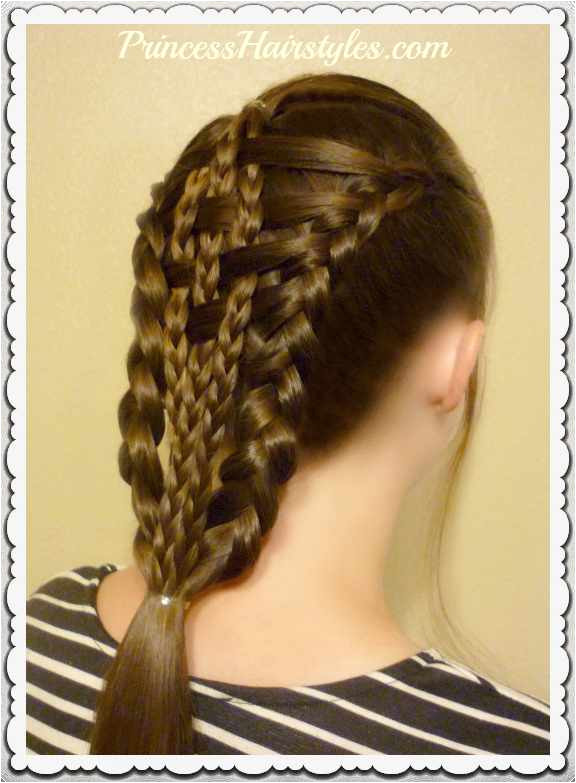 Different Braid Hairstyles and How to Do them Elegant Easy Do It Yourself Hairstyles Elegant Lehenga