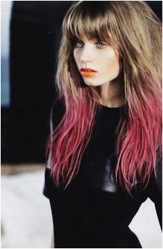 Dip Dye Hair Color Made Simple Dip dyed hair color is one of the hottest trends right now It is a playful take on hair dyeing which tends to lean on