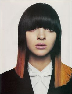 Dip Dye Hairstyles with Fringe 91 Best Ombré and Dip Dye Images
