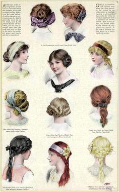 Edwardian hairstyles for teenage girls Paul Poiret Jeanne Lanvin Edwardian Fashion Edwardian Era