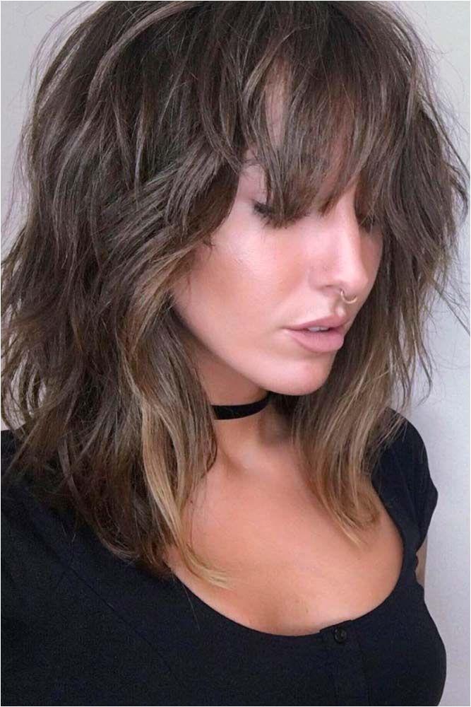 Layered Bob Haircuts Haircuts With Bangs Layered Hair Long Bob Haircut With Layers