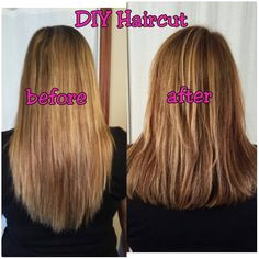 Simple Techniques to Cut Your Own Layered Hair – Latest Hairstyles When I was unaware of how to cut the hair in layers I considered it the hardest work