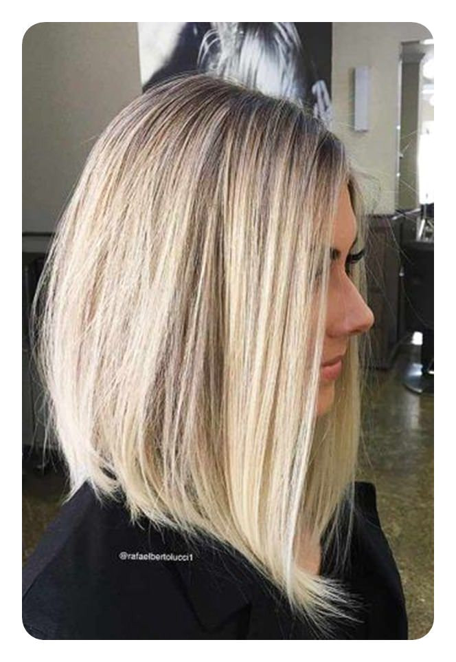 66 Beautiful Long Bob Hairstyles With Layers For 2018 Style Easily