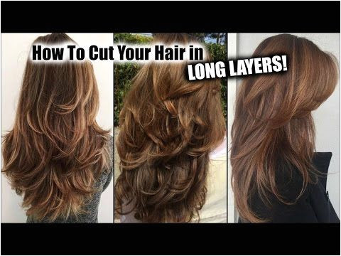 HOW I CUT MY HAIR AT HOME IN LONG LAYERS │ Long Layered Haircut DIY at Home │Updated