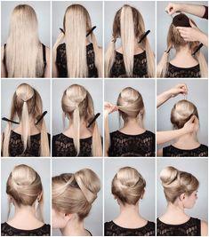 Elegant hair pictorial