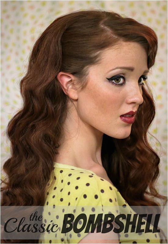 DIY Vintage Hairstyles Pin Up Retro Hairstyle Tutorial retrohair vintagehairstyles vintage