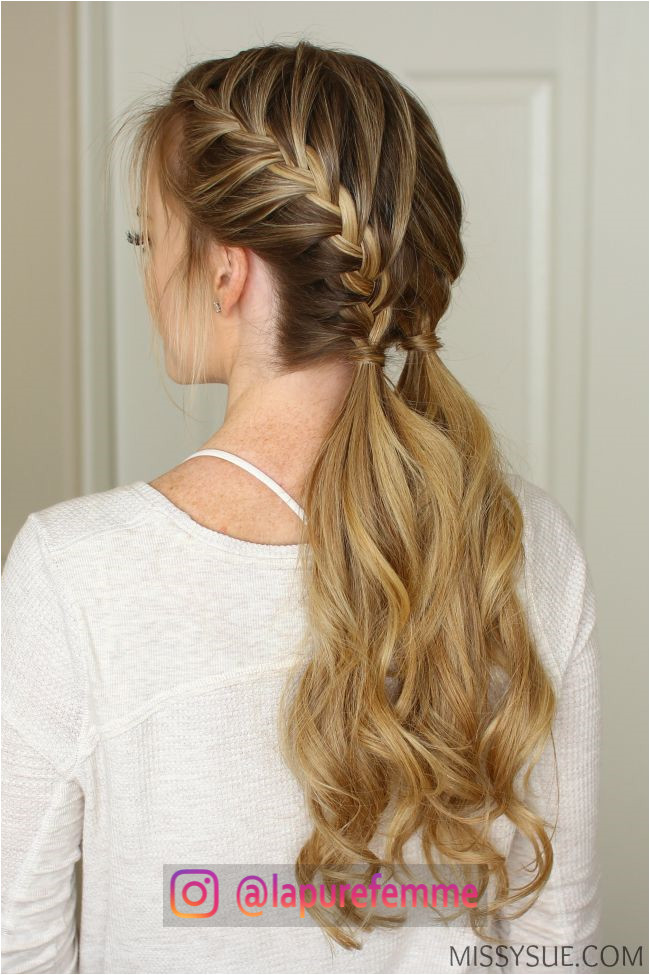 15 Cute Ponytail Hairstyles for 2017 23 Easy Braided Hairstyles 2017