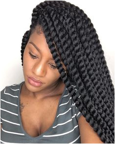 How To Install Waist Length Crochet Braids In Under An Hour African American Braided Hairstyles
