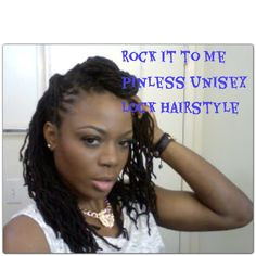Rock it to Me Quick and Easy Two fer Lock hairstyle