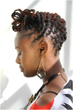 loc updo i think im going to try this hairstyle Natural Hair Styles