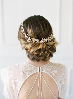 All About Romance Hairpieces & Veils 2018 Collection Twisted UpdoWedding Hairstyles