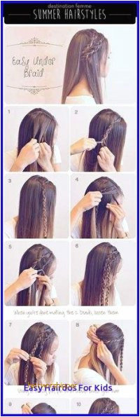 Easy Hairstyles to Do for School New Media Cache Ak0 Pinimg 736x 0b 0d 27 Kids