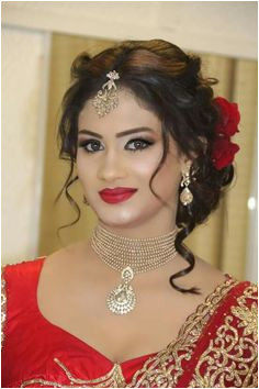 Not so much the necklace Saree Hairstyles Indian Hairstyles Bridal