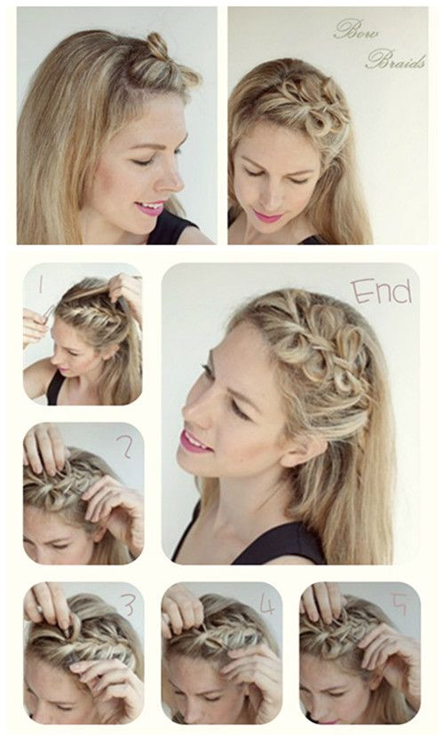 The braided hairstyles are the most exquisite and feminine hairstyles for women Even the simplest hairstyle could be e eye catching once some braids have