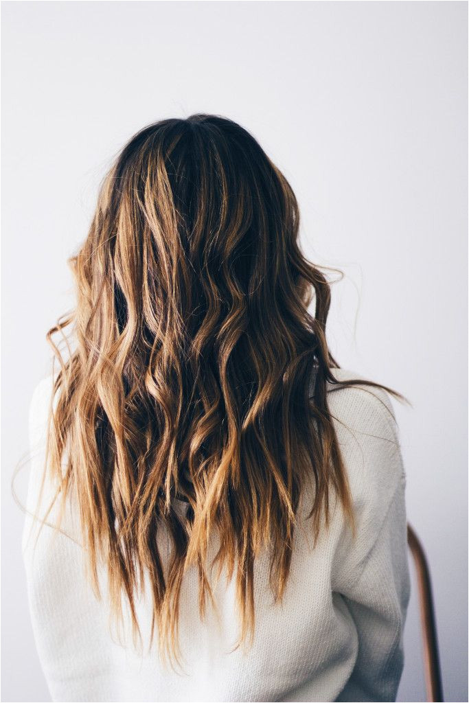 How to Get Beach Waves Using A Hair Straightener Video Straightener Beach