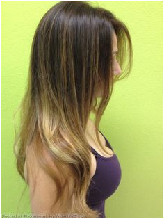 Balayage hair color & soft wave casual hair style Bloom