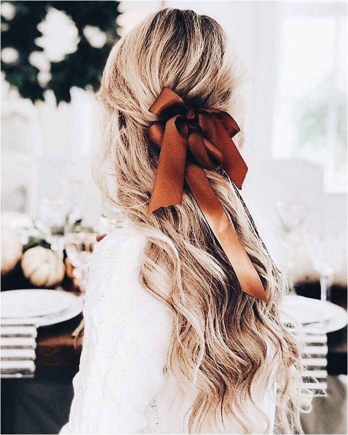 Hair Inspiration Hair Inspo Hair Bow Ribbon Hair Cute Hairstyles Down