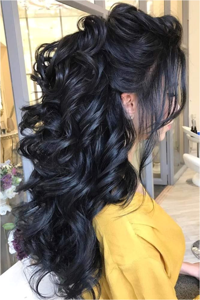 Down Hairstyles for Grad Try 42 Half Up Half Down Prom Hairstyles Wedding Ideas