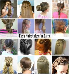 Easy Hairstyles for Girls e 2017