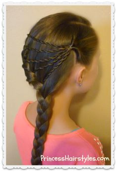 shooting star braid hairstyle Cute Braided Hairstyles Natural Hairstyles For Kids