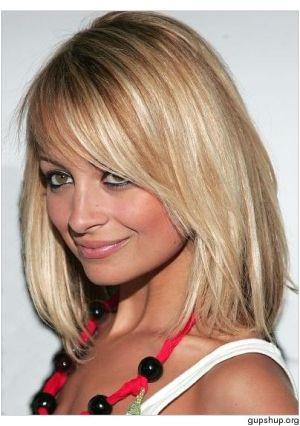 mid length blonde highlights Cut My Hair Her Hair Hair Cuts Long