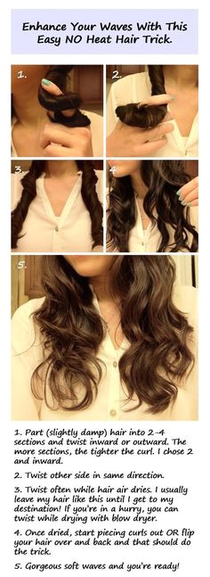 Enhance Your Waves with this Easy No Heat Hair Trick Enhance Your Waves with this Easy No Heat Hair Trick Enhance Your Waves with this Easy No Heat Hair