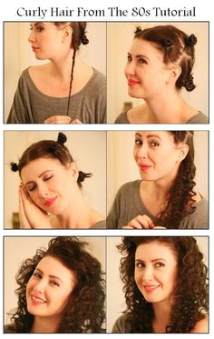 10 Easy Techniques To Loop Your Hair Naturally and Without Heat Want to have pretty curls without damaging your hair with a curling iron here are the easy