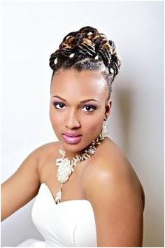 Front view Bridal Look An elegant flat twist bun is a great updo for all occasions