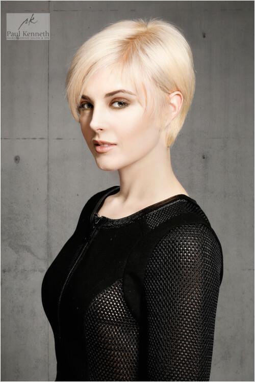 Doreen short blonde hair
