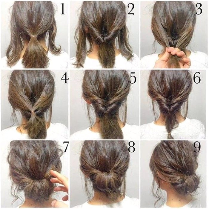 Frisuren Top Bun Hairstyles