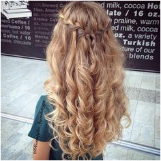 Waterfall Braid & Messy Curls Hair and Beauty Tutorials