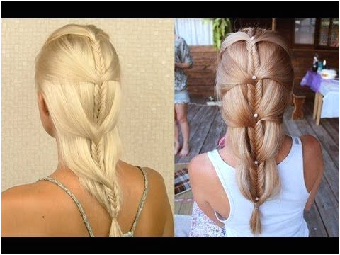 hair tutorial I ll show you step by step how to do a cascading french