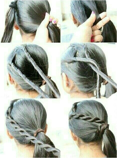 10 DIY Back To School Hairstyle Tutorials