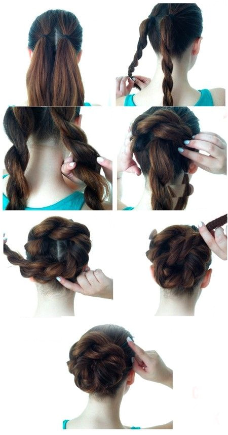 Easy So Pretty Hairstyles You Can Do in Under 5 Minutes Here are our favorite fast hairstyles for short hair long hair and everything in between