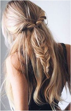 twists into fishtail braid More Fishtail Hairstyles Hairstyles For Thick Hair