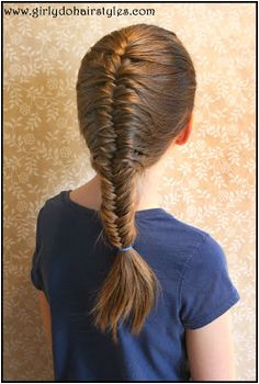 Girly Do Hairstyles By Jenn Finally a Fishtail Braid that DOESN T Sag