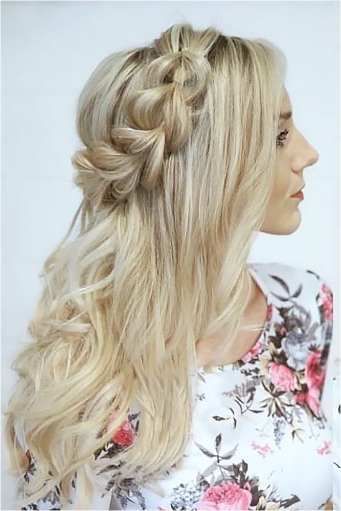 Bridal Hairstyles 30 Overwhelming Boho Wedding Hairstyles boho wedding hairstyles braided crow