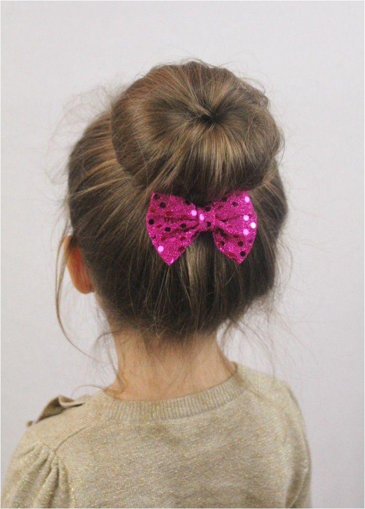 Sock Bun Hairstyle for Little Girls Sock Bun Hairstyle for Little Girls Cute Hairstyles For Toddlers Hairstyle For Kids
