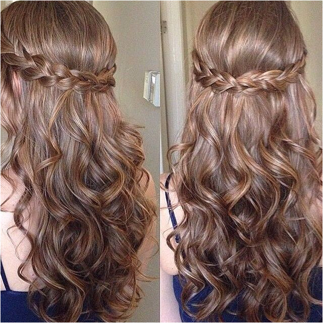 sweet sixteen prom hair
