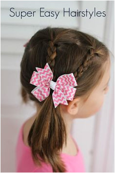 Three easy hairstyles for little girls These styles are super easy and even work on