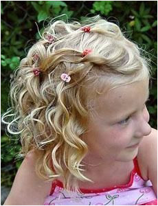 Kids Curly Hairstyle