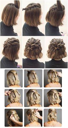Simple hairstyles on your own Closet da Re closet fazer penteados