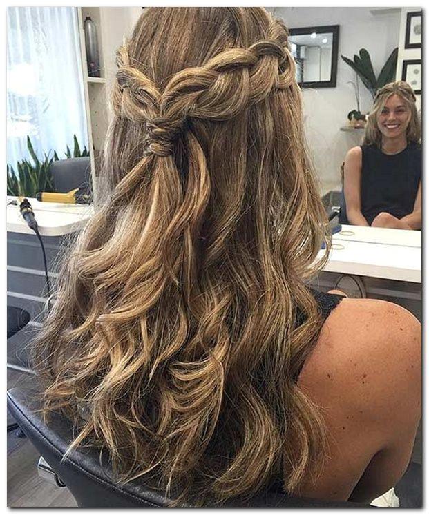 Easy Hairstyle Half Up Half Down beautyhairstyles