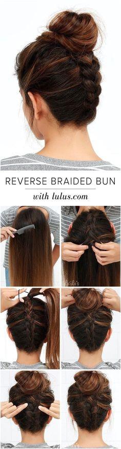 25 besten Tutorials mit Frisuren Flechten Haare für Sie Easy Hairstyles For Medium Hair For School