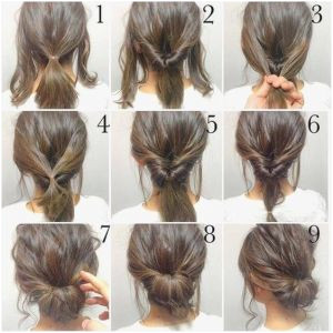 Easy Hairstyles for Short Hair Dailymotion Inspirational Easy Hairstyles Step by Step Short Hair –